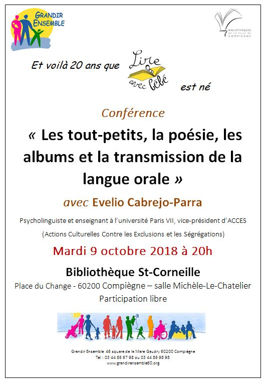 GrandirEnsemble Invitation conference 9 octobre 2018